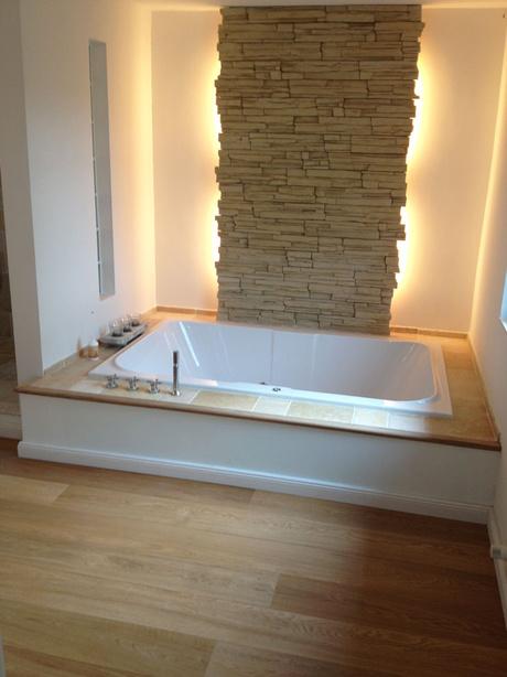 Begehbare Dusche Mit Glasbausteinen : M?rok Stein (Verblendstein) / Hintergrundbeleuchtung (Linestra